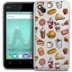 Coque Crystal Gel Wiko Sunny Extra Fine Foodie - Fast Food
