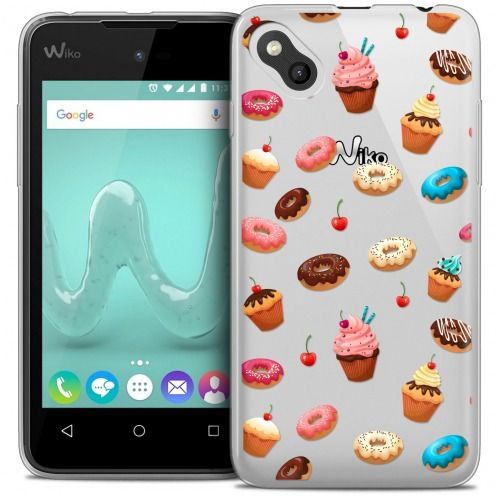 Coque Crystal Gel Wiko Sunny Extra Fine Foodie - Donuts