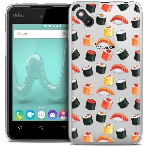 Coque Crystal Gel Wiko Sunny Extra Fine Foodie - Sushi