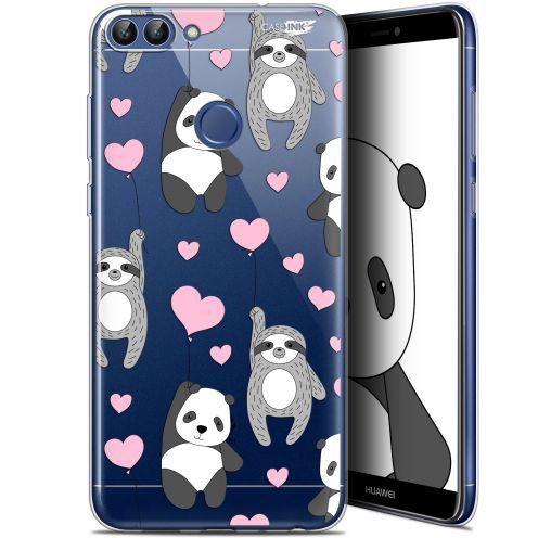 """Coque Gel Huawei P Smart (5.7"""") Extra Fine Motif - Panda'mour"""