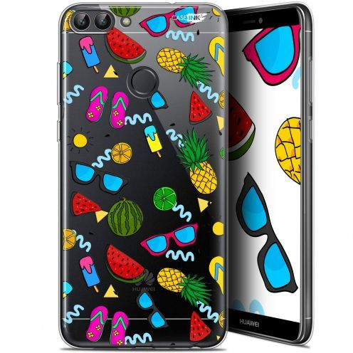 "Coque Gel Huawei P Smart (5.7"") Extra Fine Motif -  Summers"