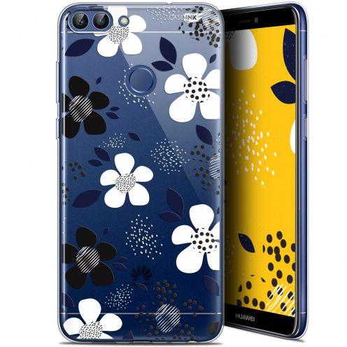 "Coque Gel Huawei P Smart (5.7"") Extra Fine Motif - Marimeko Style"