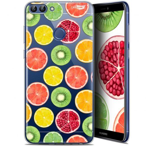 "Coque Gel Huawei P Smart (5.7"") Extra Fine Motif -  Fruity Fresh"