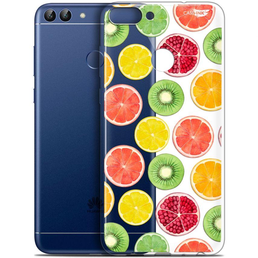 """Coque Gel Huawei P Smart (5.7"""") Extra Fine Motif - Fruity Fresh"""