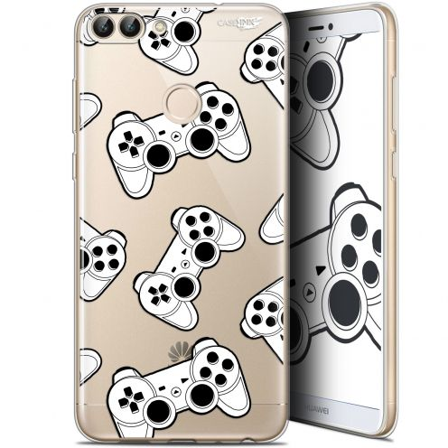 "Coque Gel Huawei P Smart (5.7"") Extra Fine Motif -  Game Play Joysticks"