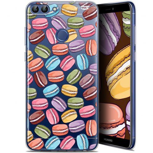 """Coque Gel Huawei P Smart (5.7"""") Extra Fine Motif - Macarons"""