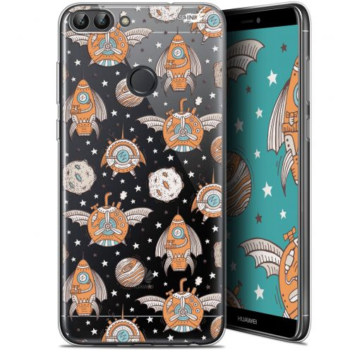 "Coque Gel Huawei P Smart (5.7"") Extra Fine Motif -  Punk Space"
