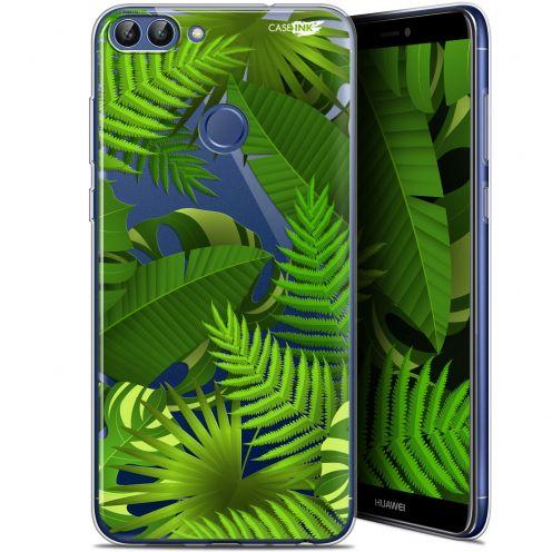 "Coque Gel Huawei P Smart (5.7"") Extra Fine Motif - Plantes des Tropiques"