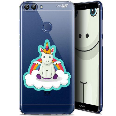"""Coque Gel Huawei P Smart (5.7"""") Extra Fine Motif - Bébé Licorne"""