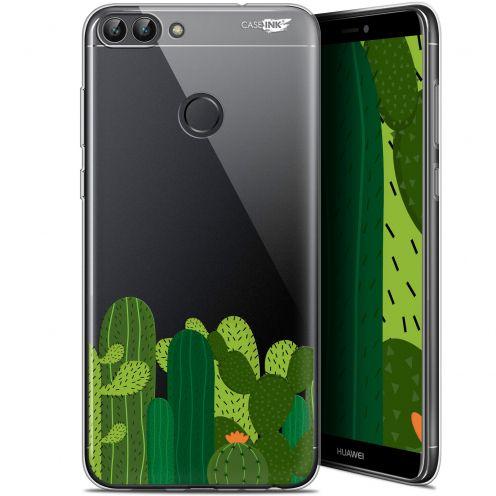 "Coque Gel Huawei P Smart (5.7"") Extra Fine Motif - Cactus"