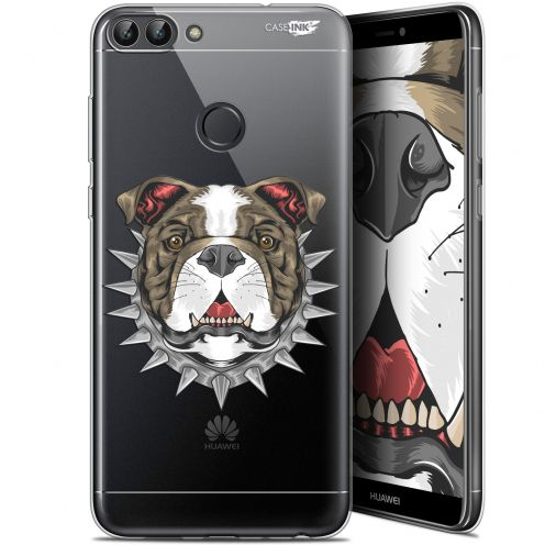 "Coque Gel Huawei P Smart (5.7"") Extra Fine Motif -  Doggy"