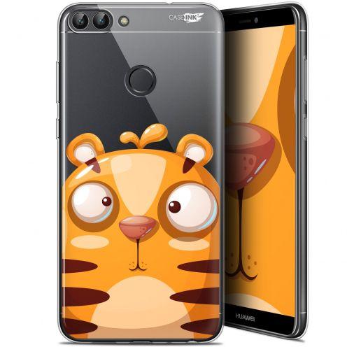 "Coque Gel Huawei P Smart (5.7"") Extra Fine Motif - Cartoon Tiger"