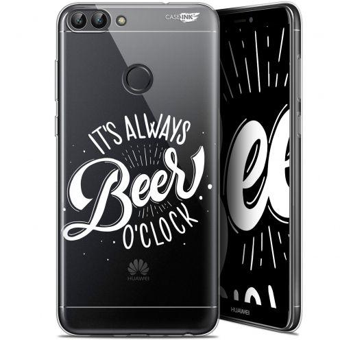 "Coque Gel Huawei P Smart (5.7"") Extra Fine Motif - Its Beer O'Clock"