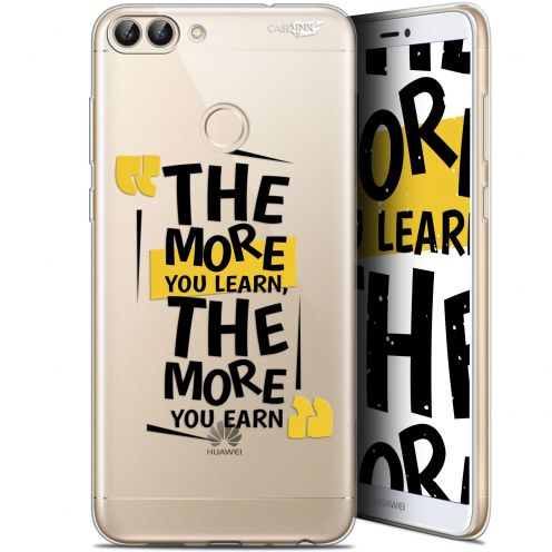"Coque Gel Huawei P Smart (5.7"") Extra Fine Motif -  The More You Learn"