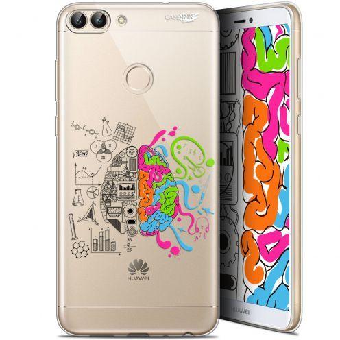 """Coque Gel Huawei P Smart (5.7"""") Extra Fine Motif - Le Cerveau"""