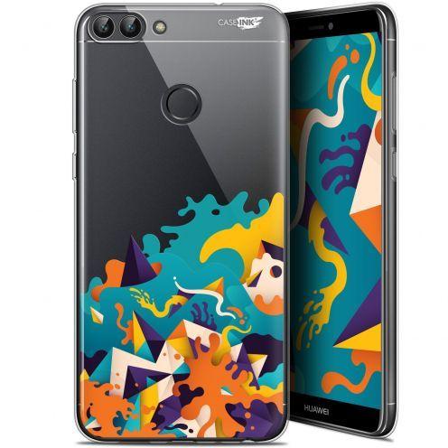 """Coque Gel Huawei P Smart (5.7"""") Extra Fine Motif - Les Vagues"""