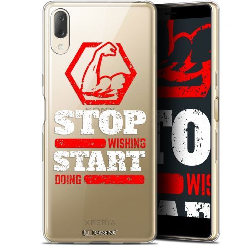 "Coque Gel Sony Xperia L3 (5.7"") Extra Fine Quote - Start Doing"