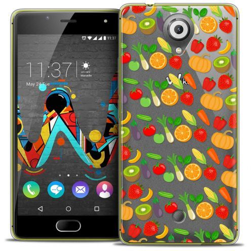 Coque Crystal Gel Wiko U Feel Extra Fine Foodie - Healthy