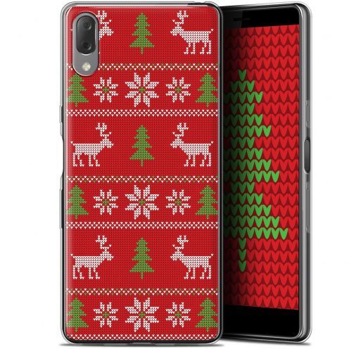 "Coque Gel Sony Xperia L3 (5.7"") Extra Fine Noël 2017 - Couture Rouge"