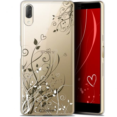 "Coque Gel Sony Xperia L3 (5.7"") Extra Fine Love - Hearts Flowers"