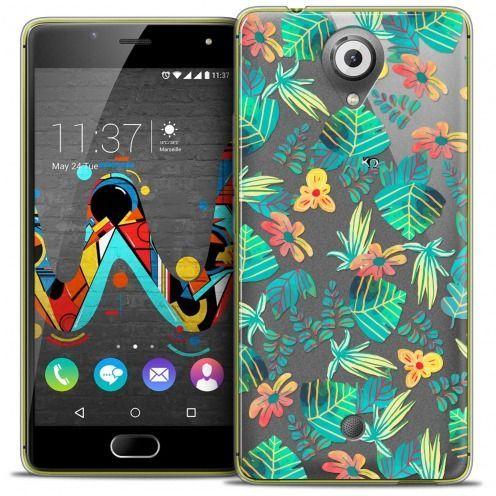 Coque Crystal Gel Wiko U Feel Extra Fine Spring - Tropical