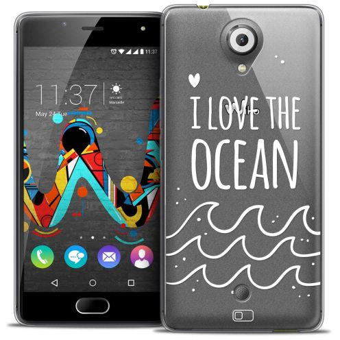 Coque Crystal Gel Wiko U Feel Extra Fine Summer - I Love Ocean