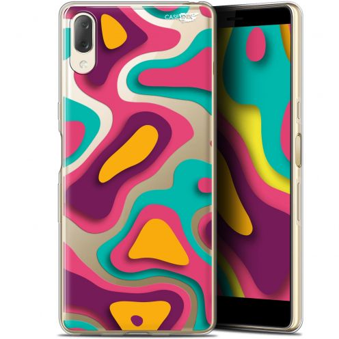 "Coque Gel Sony Xperia L3 (5.7"") Extra Fine Motif - Popings"