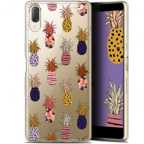 "Coque Gel Sony Xperia L3 (5.7"") Extra Fine Motif - Ananas Gold"