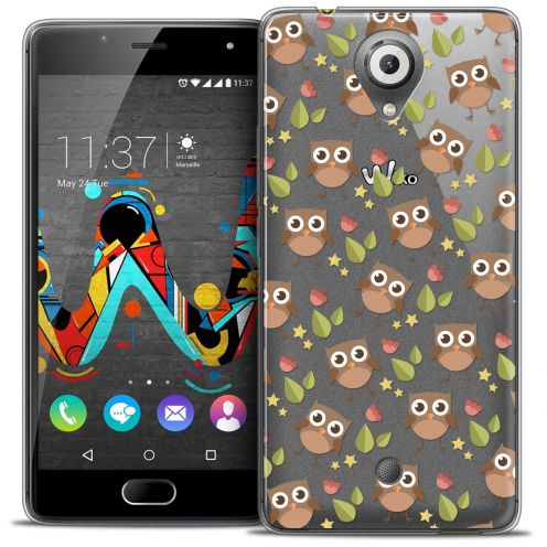 Coque Crystal Gel Wiko U Feel Extra Fine Summer - Hibou