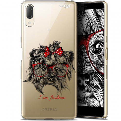 "Coque Gel Sony Xperia L3 (5.7"") Extra Fine Motif - Fashion Dog"