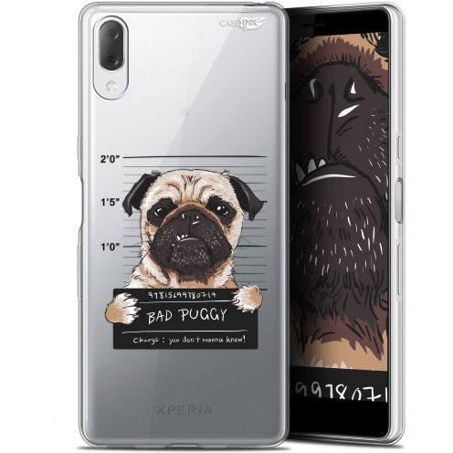 "Coque Gel Sony Xperia L3 (5.7"") Extra Fine Motif - Beware The Puggy Dog"