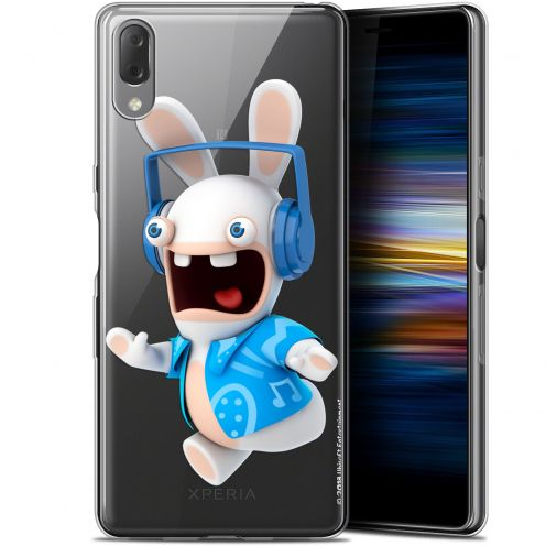 "Coque Gel Sony Xperia L3 (5.7"") Extra Fine Lapins Crétins™ - Techno Lapin"