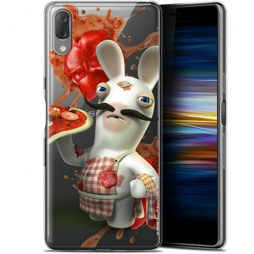 "Coque Gel Sony Xperia L3 (5.7"") Extra Fine Lapins Crétins™ - Cuisinier"