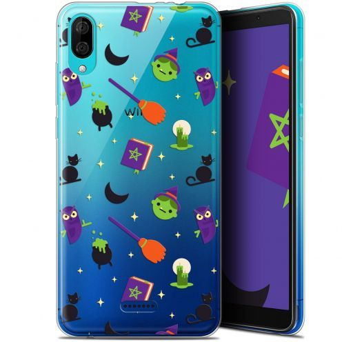 """Coque Gel Wiko Y80 (6"""") Extra Fine Halloween - Witch Potter"""