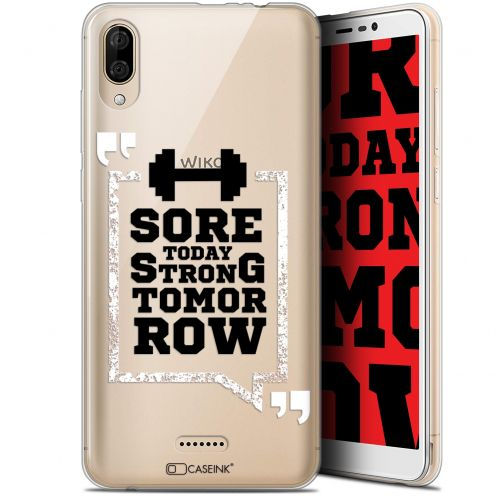 """Coque Gel Wiko Y80 (6"""") Extra Fine Quote - Strong Tomorrow"""