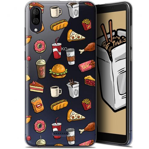 """Coque Gel Wiko Y80 (6"""") Extra Fine Foodie - Fast Food"""