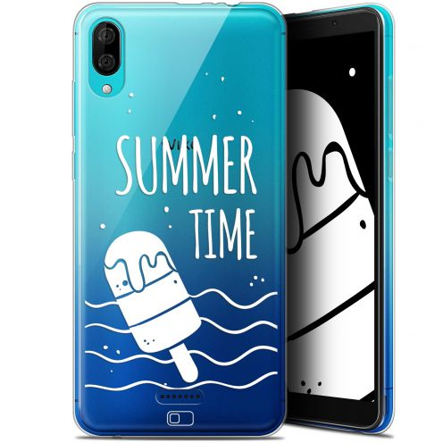 "Coque Gel Wiko Y80 (6"") Extra Fine Summer - Summer Time"