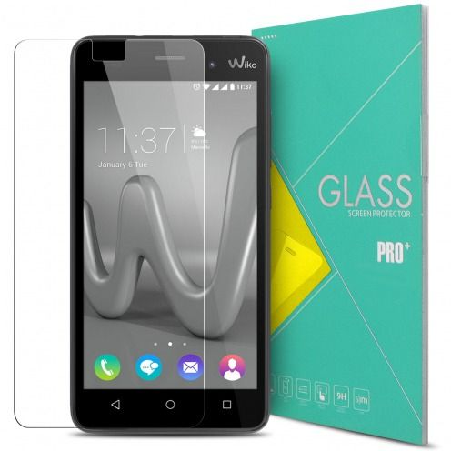 Protection d'écran Verre trempé Wiko Lenny 3 - 9H Glass Pro+ HD 0.33mm 2.5D