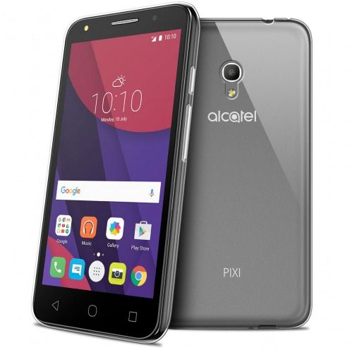 "Coque Alcatel Pixi 4 5"" (5045X) Extra Fine Souple Gel Crystal Clear"