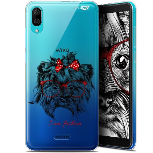 "Coque Gel Wiko Y80 (6"") Extra Fine Motif - Fashion Dog"