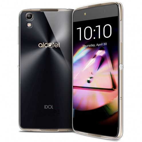 Coque Alcatel Idol 4 Extra Fine Souple Gel Crystal Clear