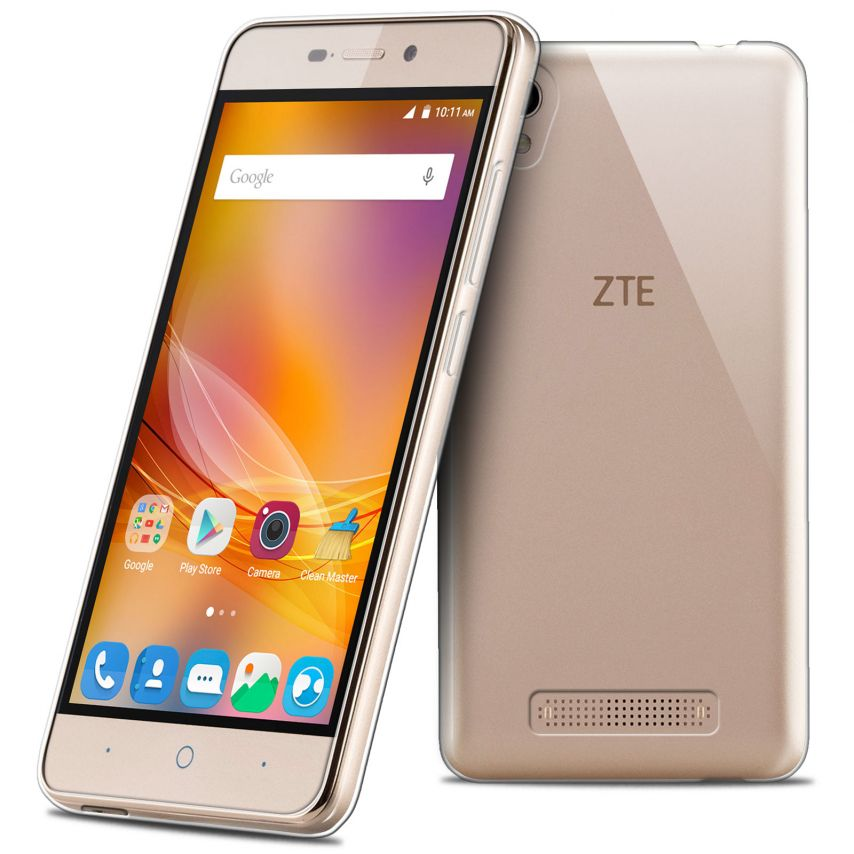 Coque ZTE A452 Extra Fine Souple Gel Crystal Clear