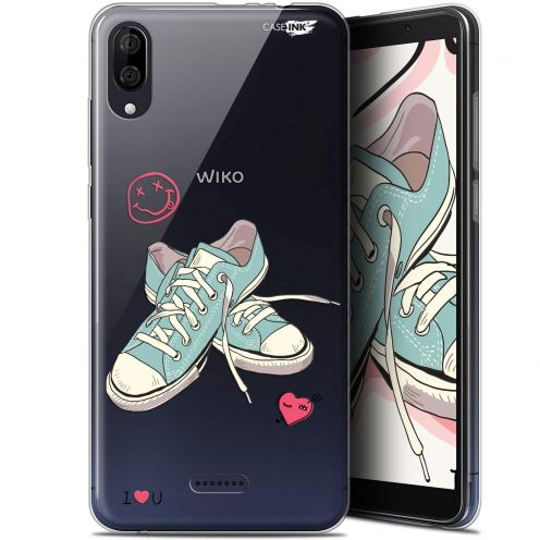 "Coque Gel Wiko Y80 (6"") Extra Fine Motif - Mes Sneakers d'Amour"