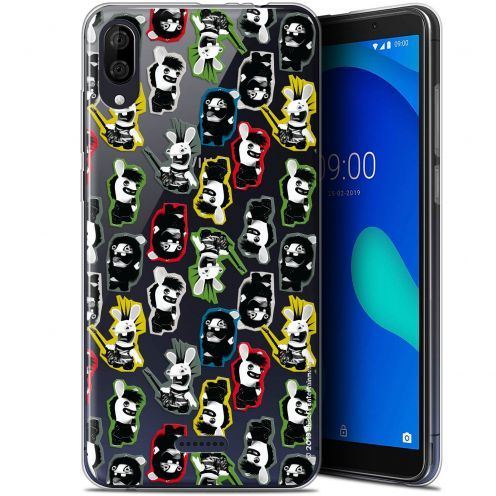 "Coque Gel Wiko Y80 (6"") Extra Fine Lapins Crétins™ - Punk Pattern"