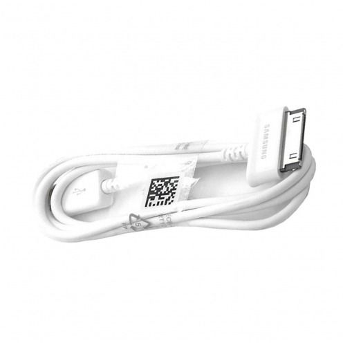 Câble Data USB 30 Pins Origine Samsung ECB-DP4AWE 1M Blanc Pour Galaxy Tab