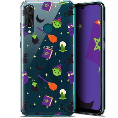 "Coque Gel Wiko View 3 PRO (6.3"") Extra Fine Halloween - Witch Potter"
