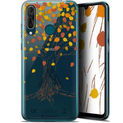 "Coque Gel Wiko View 3 PRO (6.3"") Extra Fine Autumn 16 - Tree"