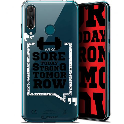 """Coque Gel Wiko View 3 PRO (6.3"""") Extra Fine Quote - Strong Tomorrow"""