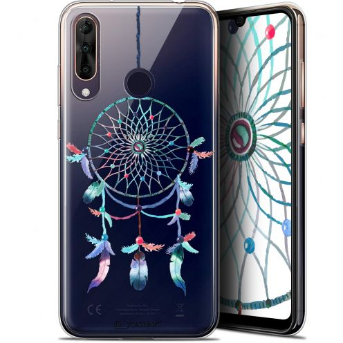 "Coque Gel Wiko View 3 PRO (6.3"") Extra Fine Dreamy - Attrape Rêves Rainbow"