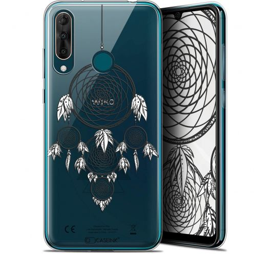 "Coque Gel Wiko View 3 PRO (6.3"") Extra Fine Dreamy - Attrape Rêves NB"